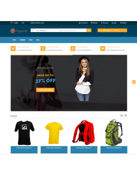 Fashion Store - Magento Smart App Solution